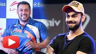 Virat Kohli REACTS On Salman Khan As The Rio Olympics 2016 Ambassador