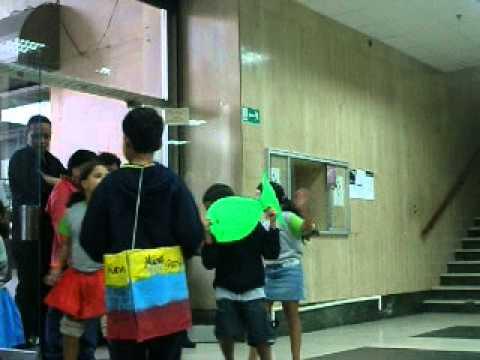 Baile El Carite Hijas e Hijos de Trabajadores as del BANMUJER en cierre Plan Vacacional .