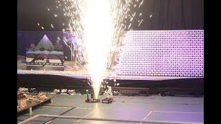 600,000 Dominoes - Celebrating Anniversary - 10 Years SDE - 3 Guinness World Records