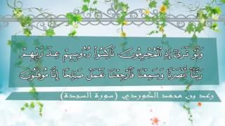 سورة السجدة كاملة للقارئ رعـد بن محمد الكـردي 1436هـ / 2015 م┇Surah Sajdah