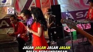 Ine Sinthya - Gaun Merah Jambu ( Official Music Video )