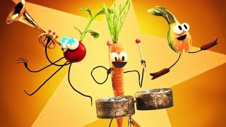 StoryBots   Veggie Boogie   Learning Songs 🎶 Different Vegetables