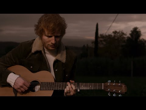 Ed Sheeran Afterglow Official Performance Video