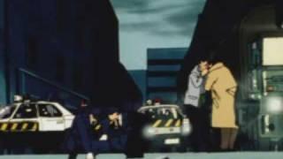 Nicky Larson - scene du baiser avec Laura - VF non censurée