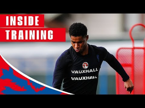 Xxx Mp4 England Train Shooting Ahead Of Sweden Quarter Final Inside Training World Cup 2018 3gp Sex