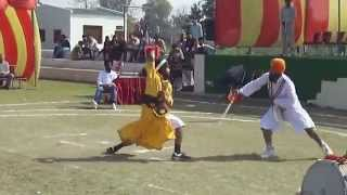 Sikh Martial Art Gatka Tournament with Weapons under GFI Rules