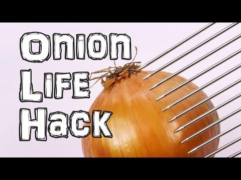 How to cut an Onion Life Hacks