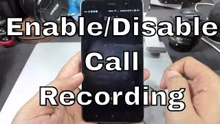 How to Enable or Disable Auto call recording on Redmi Note 3 or MI4, MI3,Redmi 1s,2,Mi5,redmi 3s