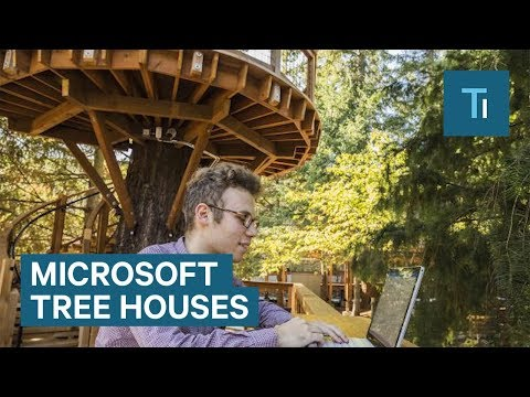 Xxx Mp4 Microsoft S New Tree Houses Are Office Spaces In The Woods 3gp Sex