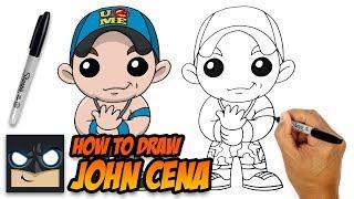 How to Draw John Cena | WWE