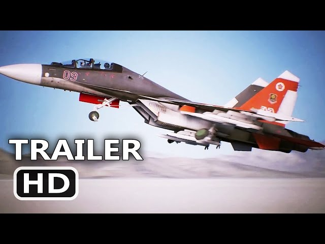PS4 - Ace Combat 7 Trailer (PlayStation VR)