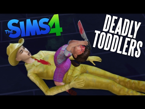 THE SIMS 4 DEADLY TODDLERS - FUNNY MOD