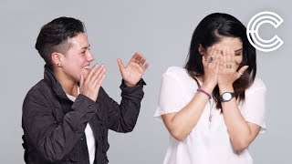 Couples Act Out What Each Other Sounds like When They O | Couples Describe | Cut