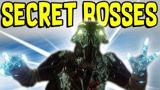 Destiny 2 - NEW SECRET BOSSES FOUND!