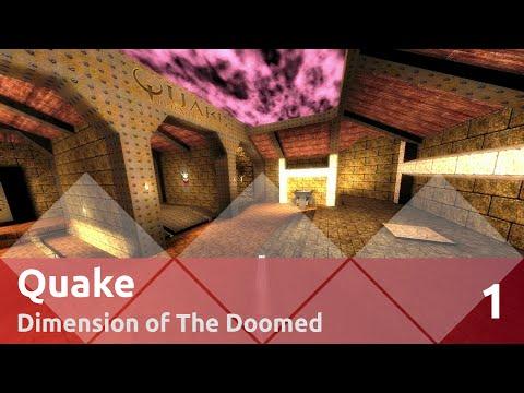Прохождение Quake (Nightmare, все секреты) — Эпизод 1: Измерение обречённых