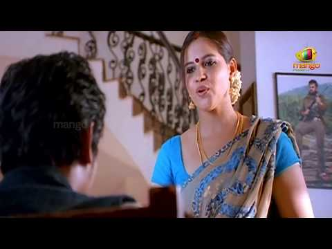 Jeeva looking at an aunty | Simham Puli Movie Scenes | Santhanam, Divya Spandana, Honey Rose