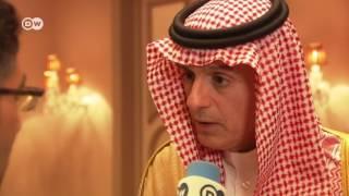 وزير الخارجية السعودي لـ DW: على قطر التوقف عن دعم الإرهاب لتجاوز الأزمة