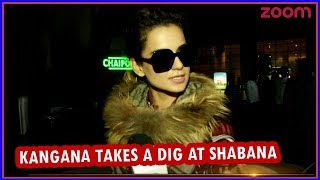 Kangana Takes A Dig At Shabana & Supports Deepika For 'Padmavati' Row | Bollywood News