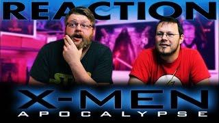 X-MEN: APOCALYPSE | Official Trailer REACTION!!