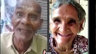 Funny Old man and Women singing hindi song