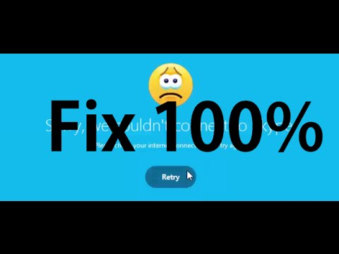 How to fix Skype Can t Connect Problem 2016 In Window 8 7 & 10