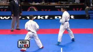 Dimitros Triantafylli (Greece) vs. Hamed Ziksari (Iran) - WKF