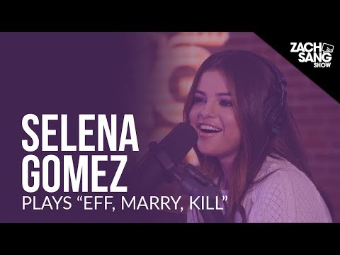 """Selena Gomez Plays """"Eff, Marry, Kill"""" With Her Songs"""