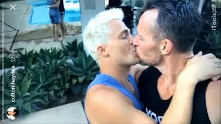 Colton Haynes | Kissing with Jeff Leatham | Pool Day with Emily Bett Rickards | InstagramStories