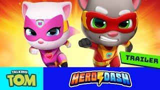 🦸 Talking Tom Heroes' NEW GAME - Talking Tom Hero Dash (Official Trailer) - PRE-REGISTER NOW! ⚡