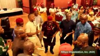 Afikpo Men Present a Cultural Music and Dance Titled Janarabu at 2015 Iriji Festival