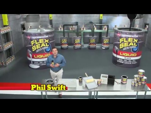 Flex Seal® Liquid Commercial with Airboat Flex Seal®