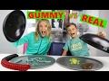 Download Video Download GUMMY vs REAL 3GP MP4 FLV