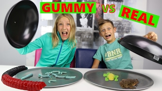 GUMMY vs REAL