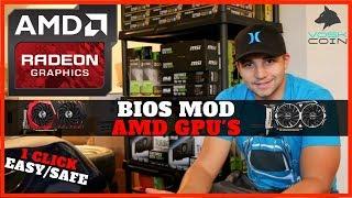 How To Bios Mod AMD GPU