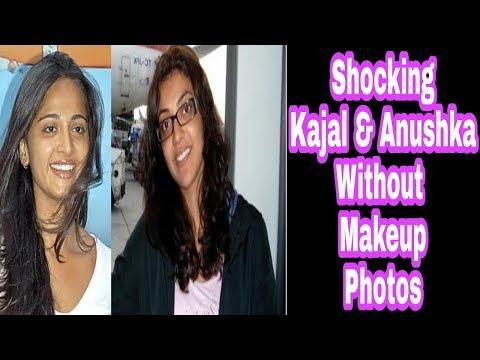 Xxx Mp4 Shocking Kajal Aggarwal Anushka Without Makeup Photos 2017 3gp Sex