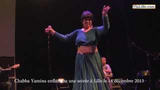 Cheba Yamina enflamme une soirée à Lille