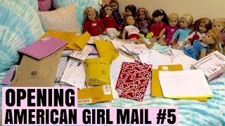 Chloe's American Girl Doll Channel Opening PO Box Mail #5