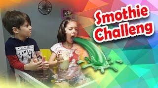 Smoothie Challenge com Sarinha e Vini