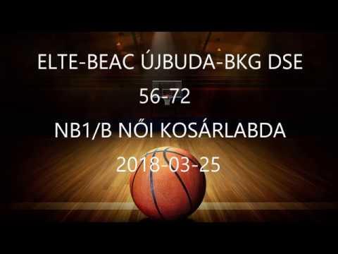 ELTE BEAC-BKG DSE NB1/B 56-72  2018-03-25