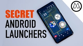 6 Amazing SECRET Android Launchers (2017 / 2018)