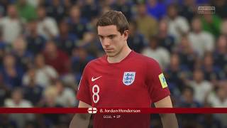 World Cup 2018 Finals France vs England - Full Match Sim (FIFA 18 World Cup)