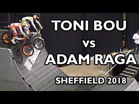 Xxx Mp4 Adam Raga Vs Toni Bou Sheffield Indoor Motorbike Trial 2018 3gp Sex