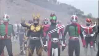 Kamen Riders vs Shadow Moon - Most Epic Rider Kick Ever