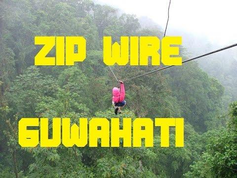 Zip wire in Assam sonapur 100ft | BRAHMAPUTRA RESORT | ZIP LINE | ZIP WIRE | FLYING FOX |
