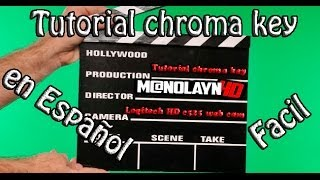 Tutorial Chroma key | cyberlink powerdirector 11 | español | paso a paso |
