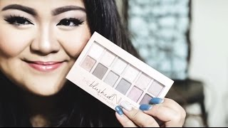 Maybelline The Blushed Nudes Tutorial ❥ | Almeida Kezia (Bahasa Indonesia)
