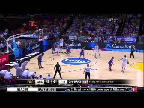 watch FIBA 2014: Philippines vs Argentina