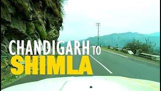 Chandigarh to Shimla (Himachal Pradesh) Road Trip April 2015 - Full HD