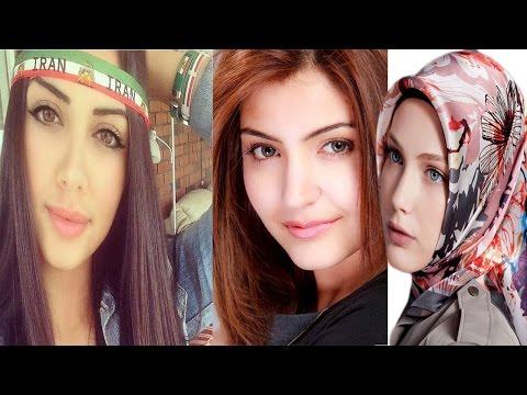 Arab vs Indian vs Turkish vs Iranian Beauty 2015