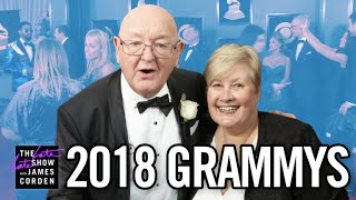 James Corden's Parents Take Over the GRAMMY Awards